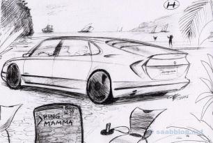 Nie gebaut: Saab 9000 Nachfolger