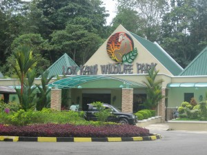 Lok Kawi Wildlife Park is a little more like a zoo with a few awfully small enclosures