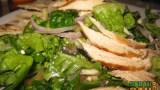 Greek grilled chicken salad is plenty tasty at El Centro Cafe