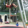 KK Adventure Park's bungee trampolines