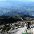 The Mt. Kinabalu descent - weather like this is not guaranteed and requires luck ;)