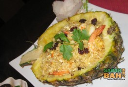 Pineapple rice at Mai Yai Thai Orchid Restaurant