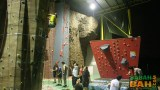 To be fair, the Sabah Indoor Climbing Centre isn't as much indoor as it is covered