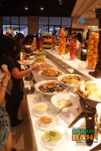 Back at the salad bar you're sure to find something to get your started for the main Ramadan buffet