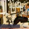 Weight machines at 1Fitness gym at 1Borneo in Kota Kinabalu