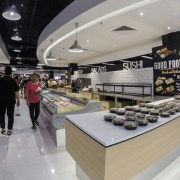 Everrise Supermarket's Bakery area in Imago - The Mall at KK Times Square Phase 2