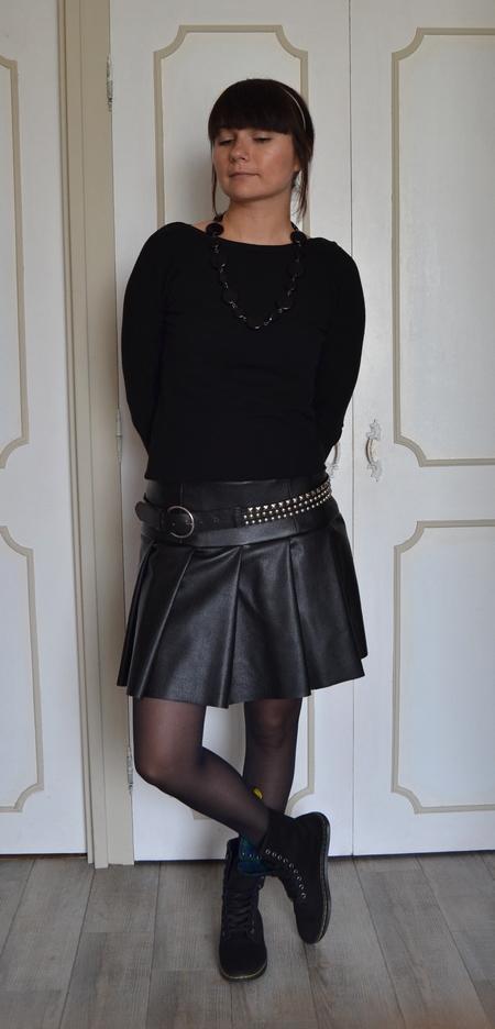 sabali blog couture - jupe simili cuir - 07