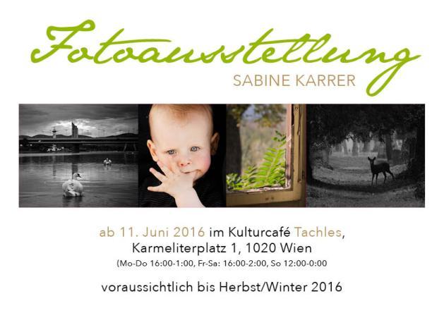 Einladung Fotoausstellung 2016