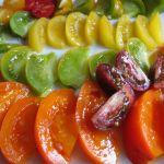 La selección de tomates multicolor y multisabor listos para la cata