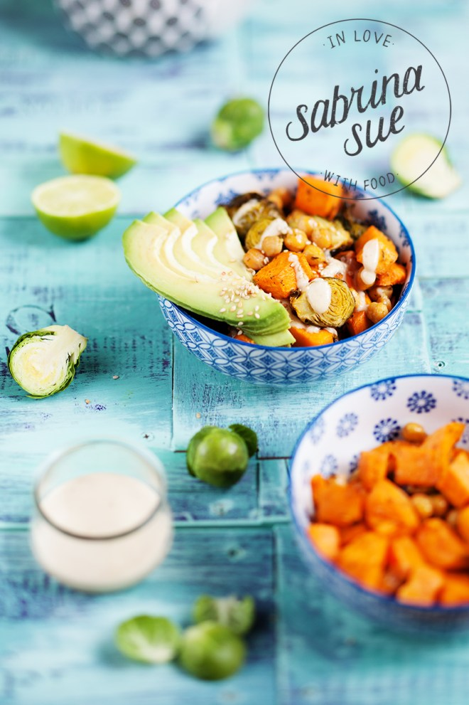 Brussels sprouts Buddha Bowl