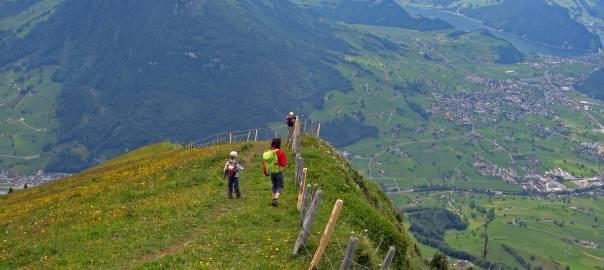 Abstieg vom Buochserhorn