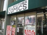 Big Brother Comics on J Street