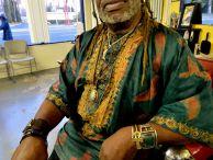 HAIRitage host Tchaka Muhammed.