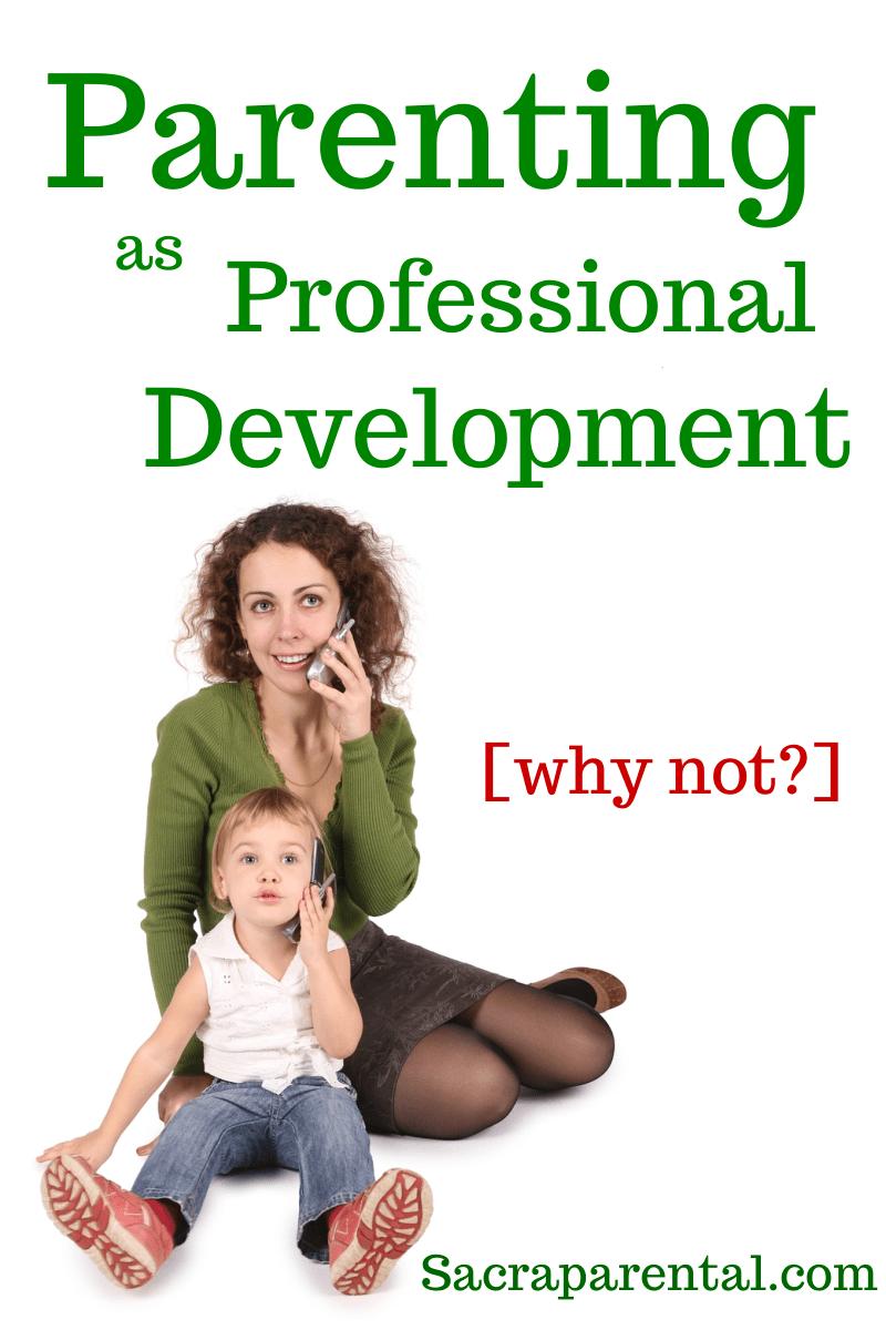 parenting as professional development