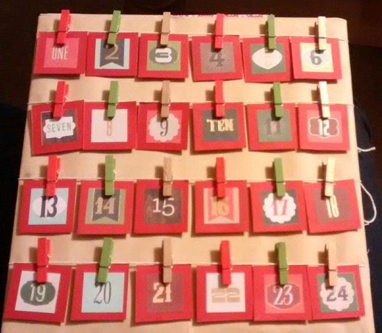 hHome-made Advent calendars and hundreds of other Advent ideas from around the world! | Sacraparental.com