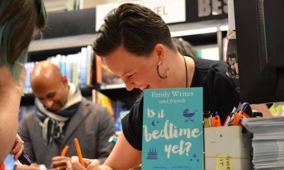 emily signing