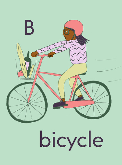 Christmas gifts, bicycle pictures, buy local, Christian parenting