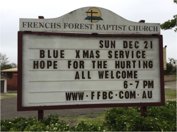 Find out about 'Blue Christmas' services, for when Christmas isn't happy | Sacraparental.com
