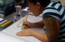 maggie in class