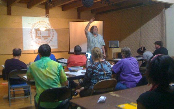 Randall Carlson Instructing