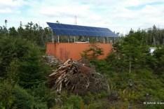 6kW off-grid solar PV.