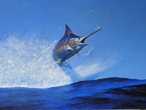 1st Hour Marlin Jumping (Google Image)