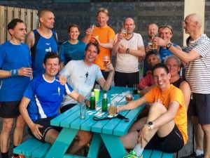 Ivar's goodbye from his running mates