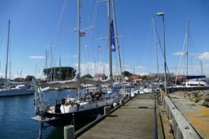 Luci in Ballen, the Samsø harbour