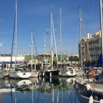 Almerimar marina; our berth next to the tapas bar