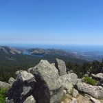 Corsica mountain view