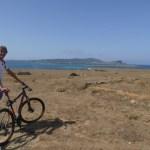 Biking barren Asinara