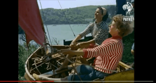 #sundayvideo. How we learn to sail in 1956?