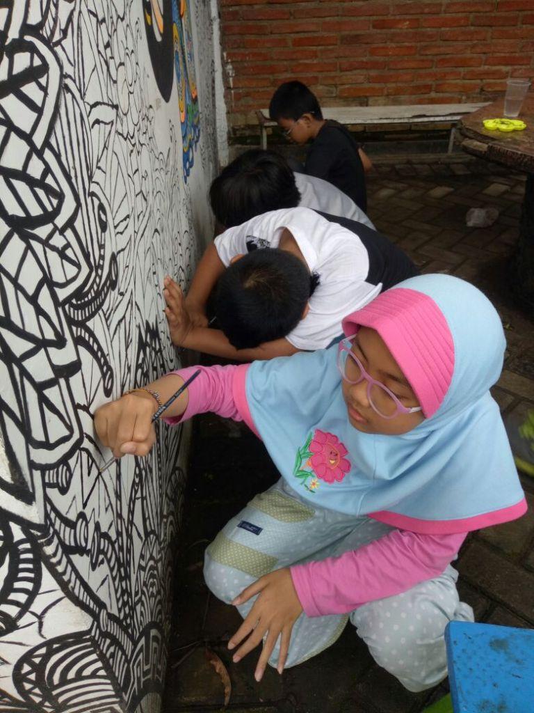 sekolah alam kreatif