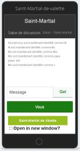 Téléchargez notre application et dialoguez avec vos amis. Lisez en direct les nouveaux articles, consultez le site de Saint-Martial de valette facilement...