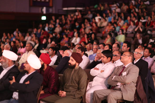 Audience at National Human Values Day