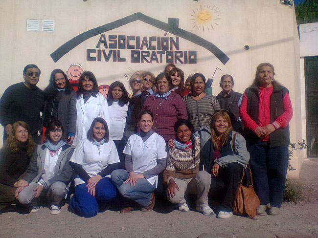 Argentina Vision Camp Volunteers who run the Medical Camp in Las Heras, Mendoza, Buenos Aires, Argentina, Jun 7, 2014.