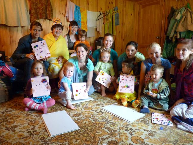 Russia-Ural Region-Children Zonal Sai camp_Lesson in a group of kids