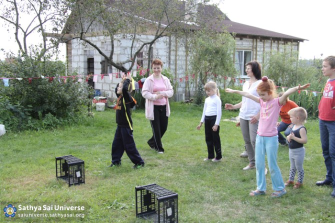 Childrens games in Belarus