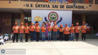 Teachers at Sai School of Guayaquil, Ecuador