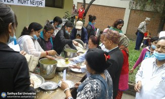 Providing support after devastating earthquake
