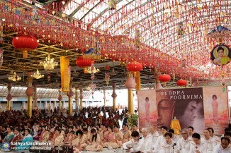 Audience at Buddha Purnima