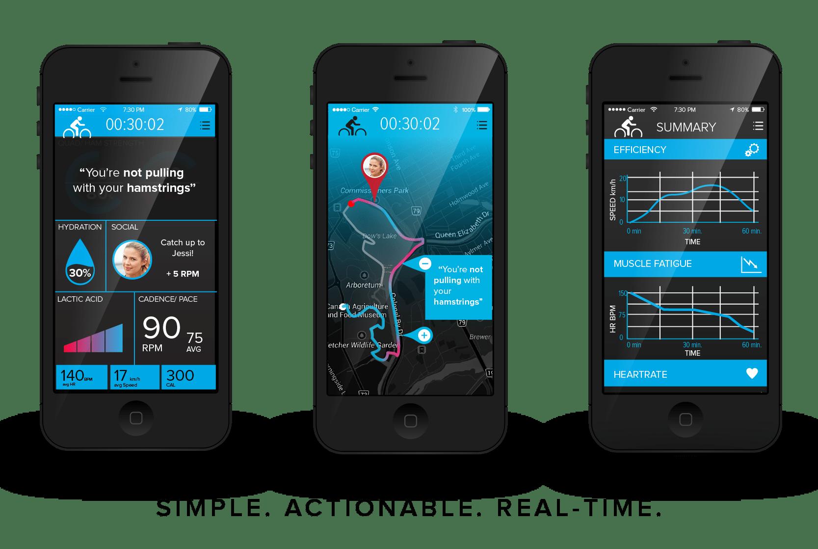 LEOの専用スマートフォンアプリ