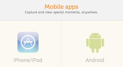 Lifecakeのアプリ