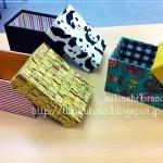 カードボックス、お友達の作品