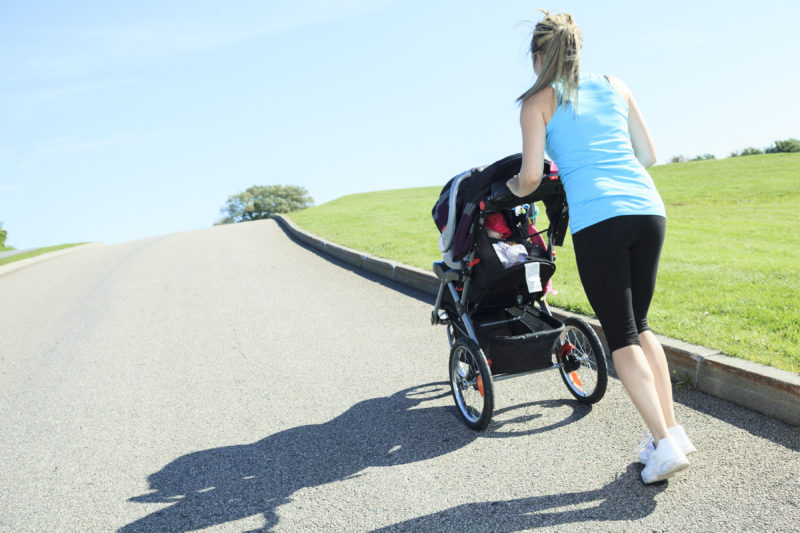 5 Easy Tips for Running with a Stroller