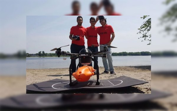 ین سه عضو تیم محققین ایرانی برای سه ماه تحت برنامه جلب خلاقیتها در دانشگاه نیوبرانزویک در کانادا به سر می برند.