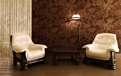 Galeria de fotos e imagens: Papel de parede na decoração de uma sala