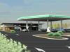 Irlam petrol station