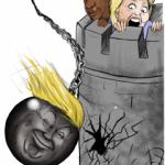 Donald Trump Political Wrecking Ball