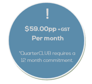 Salon Business Coach QuarterCLUB Fee